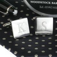 Manžetové knoflíčky gravírování písmen
