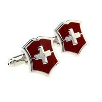 Manžetové knoflíčky Švýcarský znak