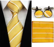 Manžetové knoflíčky s kravatou - Iris