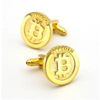 Manžetové knoflíčky Bitcoin