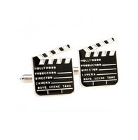 Manžetové knoflíčky filmová klapka