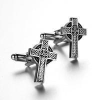 Manžetová knoflíčky keltský kříž