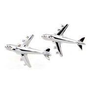 Manžetové knoflíčky velké letadlo