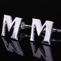 Manžetové knoflíčky písmeno M a B