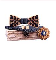 Manžetové knoflíčky s motýlkem Levandules