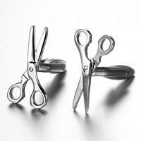 Manžetové knoflíčky nůžky