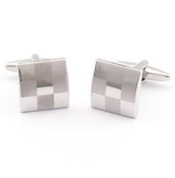 Manžetové knoflíčky šachovnicová mozaika