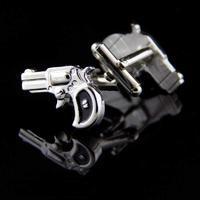 Manžetové knoflíčky historicka pistole