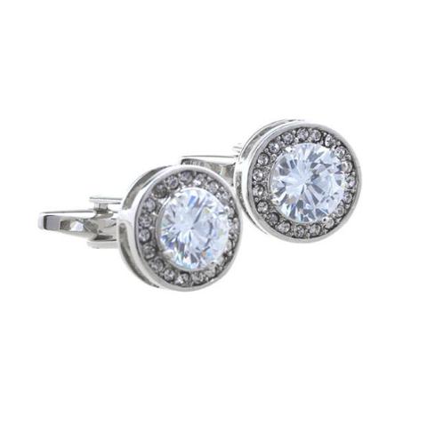 Manžetové knoflíčky diamant - 1