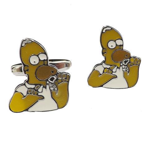 Manžetové knoflíčky Homer Simpson