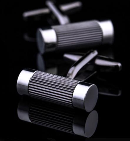 Manžetové knoflíčky ocelové válečky - 1