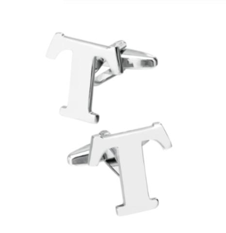 Manžetové knoflíčky písmeno T - 1
