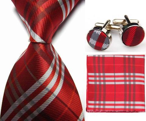 Manžetové knoflíčky s kravatou - Forkys - 1