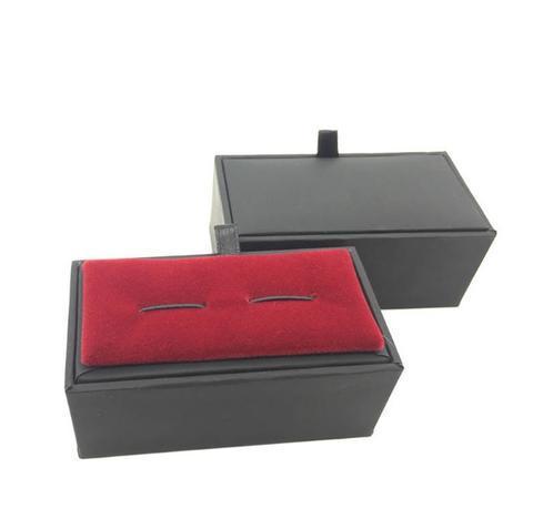 Krabička na manžetové knoflíčky - černá - 1