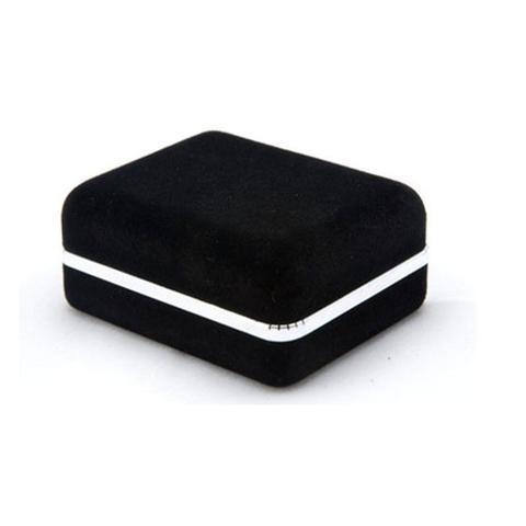 Krabička pro manžetové knoflíčky - semiš - 1