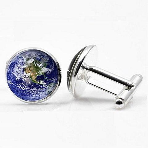 Manžetové knoflíčky Země - 1