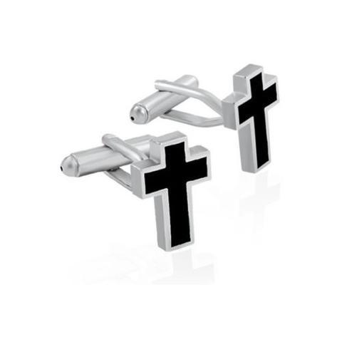 Manžetové knoflíčky křesťanský kříž - 1