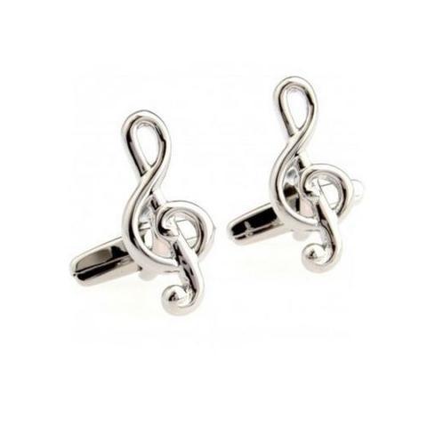 Manžetové knoflíčky houslový klíč Strauss - 1