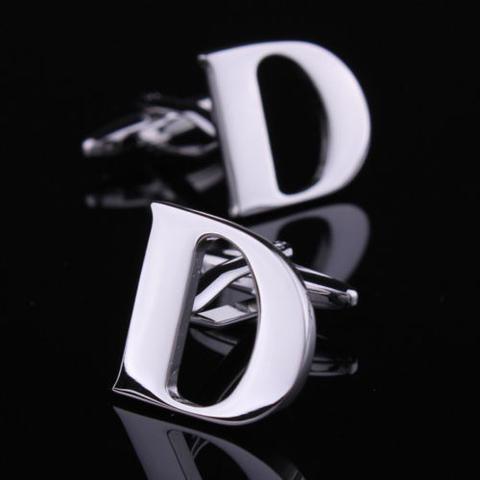 Manžetové knoflíčky písmeno D
