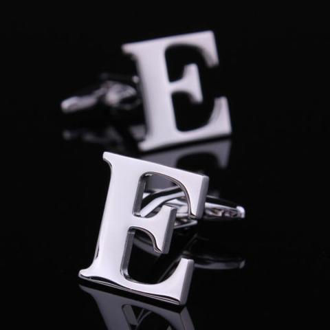 Manžetové knoflíčky písmeno E