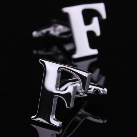 Manžetové knoflíčky písmeno F
