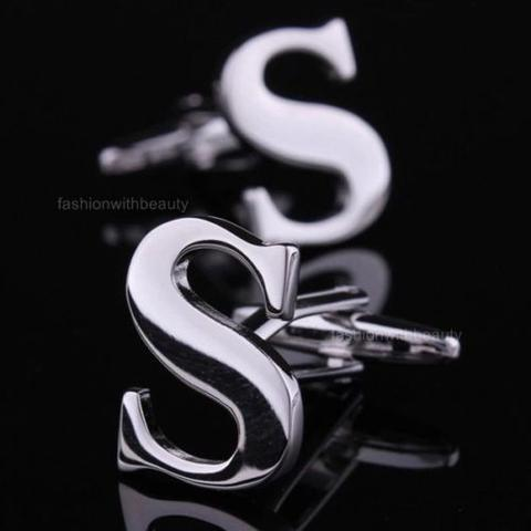 Manžetové knoflíčky s písmeno S
