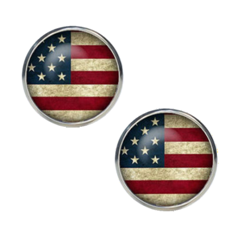 Manžetové knoflíčky USA - 1