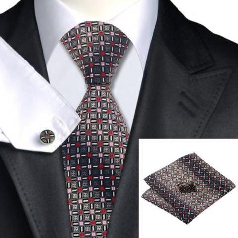 Manžetové knoflíčky s kravatou - Afrodité - 1