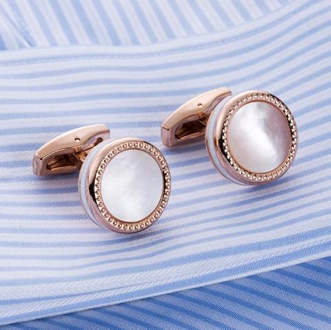 Manžetové knoflíčky perleť - 1