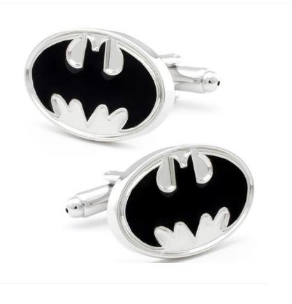 Manžetové knoflíčky Batman (Betman) bílá - 1