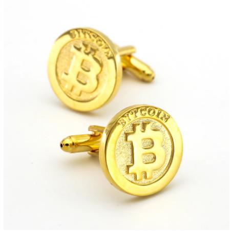 Manžetové knoflíčky Bitcoin - 1