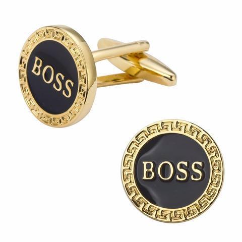 Manžetové knoflíčky BOSS gold - 1