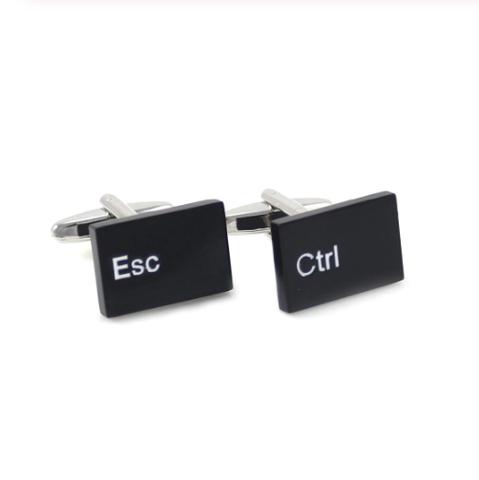 Manžetové knoflíčky Ctrl + ESC