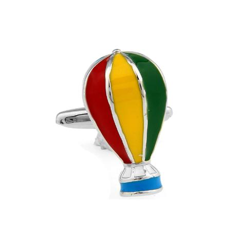 Manžetové knoflíčky létající balón - 1