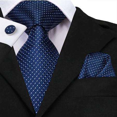 Manžetové knoflíčky s kravatou - Héra