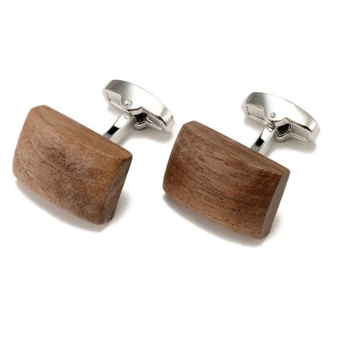Manžetové knoflíčky dřevo - 1