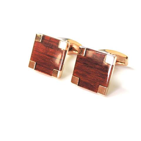 Manžetové knoflíčky wood - 1