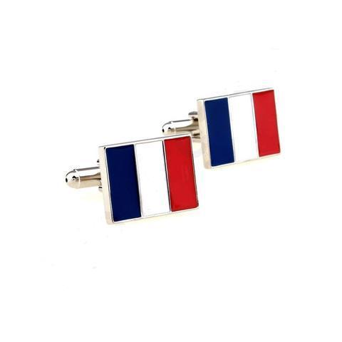 Manžetové knoflíčky Francouzská vlajka