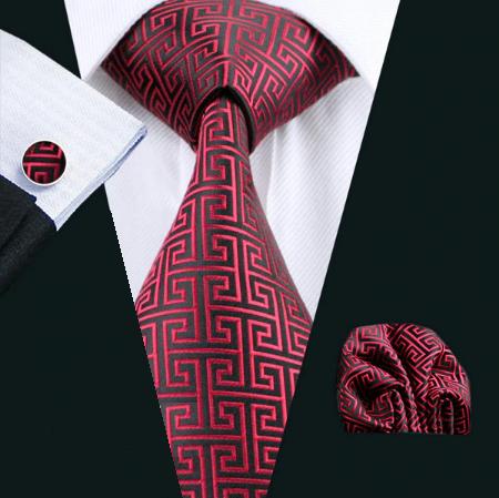 Manžetové knoflíčky s kravatou Tritón