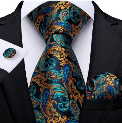 Manžetové knoflíčky s kravatou - Hébé