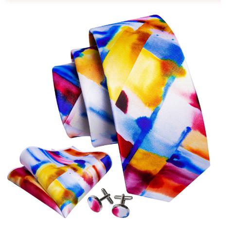 Manžetové knoflíčky s kravatou Muzy - 1