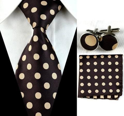 Manžetové knoflíčky s kravatou - Persefoné - 1