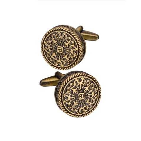 Manžetové knoflíčky bronzový vzor - 1