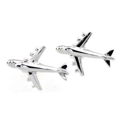 Manžetové knoflíčky velké letadlo - 1