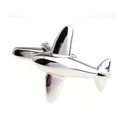 Manžetové knoflíčky letadlo - 1