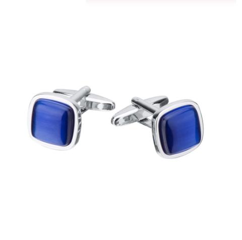 Manžetové knoflíčky modrá hloubka - 1