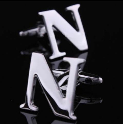 Manžetové knoflíčky písmeno N