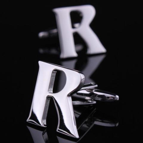 Manžetové knoflíčky písmeno R