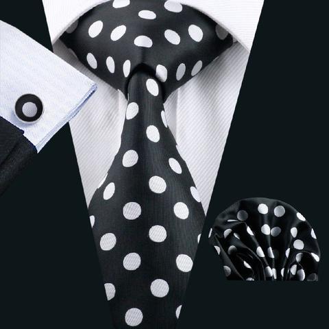 Manžetové knoflíčky s kravatou - Artemis - 1