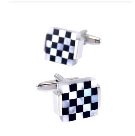 Manžetové knoflíčky perleťová mozaika - 1